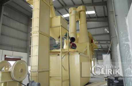 calcite production line-HGM grinding mill